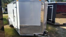 6x12 Budget V Nose Trailer For Sale