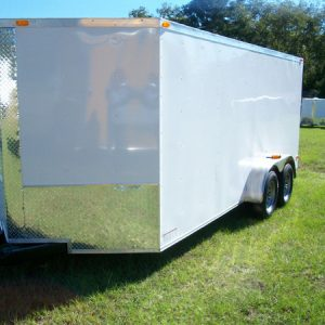 RollingVault V Nose Tandem Axle 7x10 Enclosed Trailers For Sale