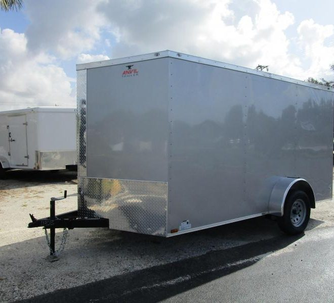 Anvil V Nose 7x12 Single Axle Cargo Trailers For Sale