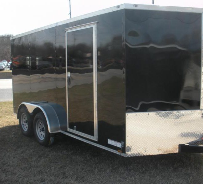 Anvil V Nose Tandem Axle 7x12 Cargo Trailers For Sale