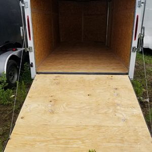 7x14 Budget Tandem Axle V Nose Enclosed Cargo Trailers For Sale