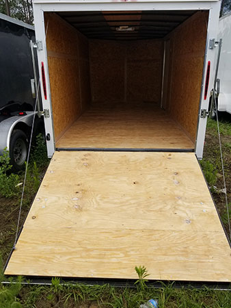 7x14 Budget V Nose Trailers For Sale
