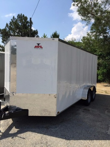 Anvil V Nose Tandem Axle 7x10 Cargo Trailer