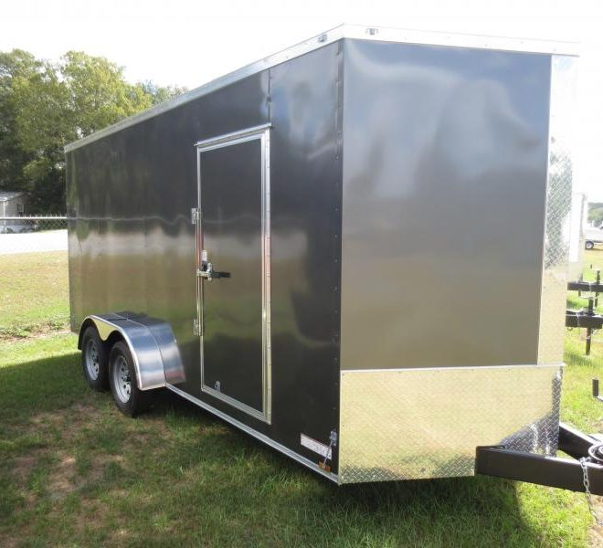 Anvil V Nose Tandem Axle 7x18 Cargo Trailers For Sale