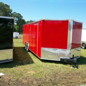 8.5x12 RollingVault V Nose Tandem Car Hauler For Sale