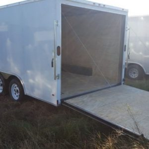 Diamond Cargo V Nose Tandem Axle 8.5x14 Trailers For Sale
