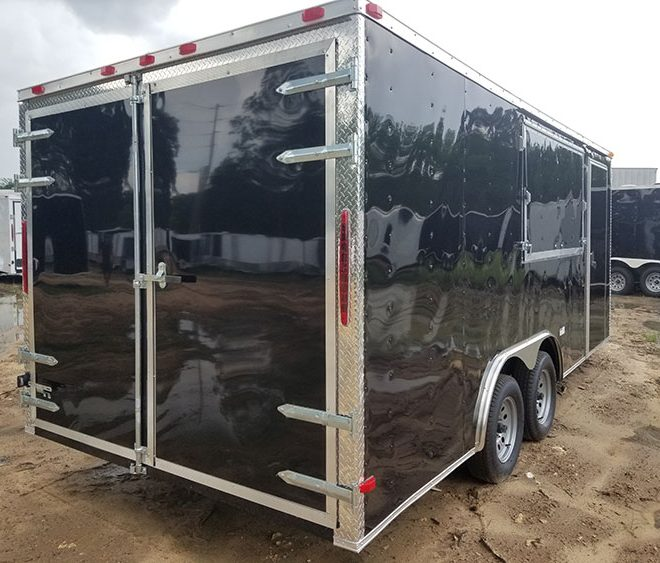 RollingVault Car Hauler 8.5x16 Enclosed Trailers For Sale