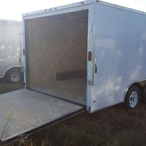 Diamond Cargo V Nose Tandem Axle 8.5x16 Trailers For Sale