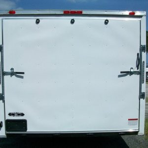 8.5x18 RollingVault V Nose Tandem Car Hauler For Sale