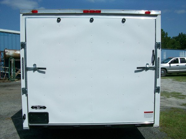 8.5x18 Enclosed Trailer