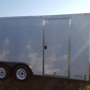 8.5x18 V Nose Tandem Axle Diamond Cargo Trailers For Sale