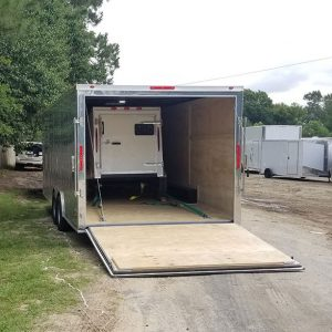 RollingVault Car Hauler 8.5x22 Enclosed Trailer For Sale