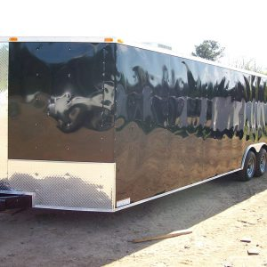 8.5x28 RollingVault V Nose Tandem Car Hauler For Sale