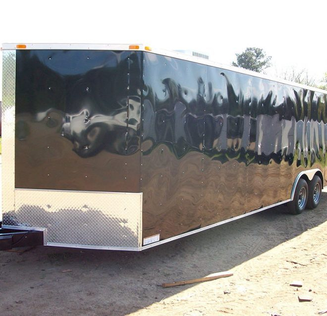 RollingVault Car Hauler 8.5x28 Enclosed Trailer For Sale