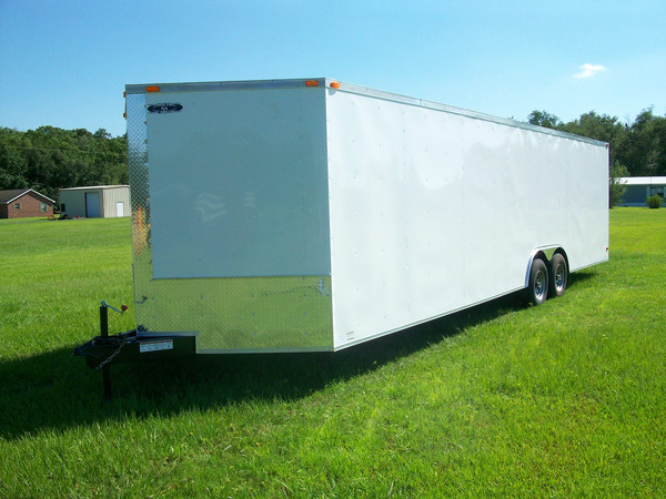 8.5x30 Enclosed Trailer
