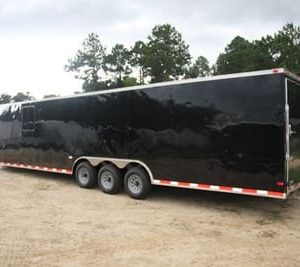 RollingVault Car Hauler 8.5x34 Enclosed Trailer For Sale