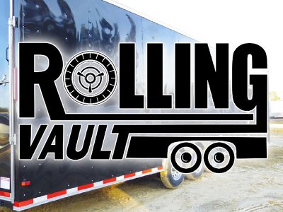 RollingVault Cargo Trailer For Sale Logo
