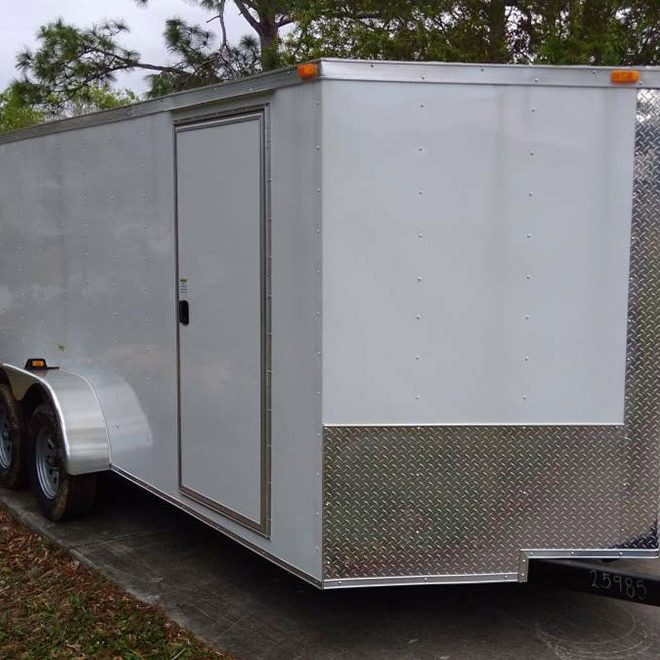7x20 Enclosed Trailer