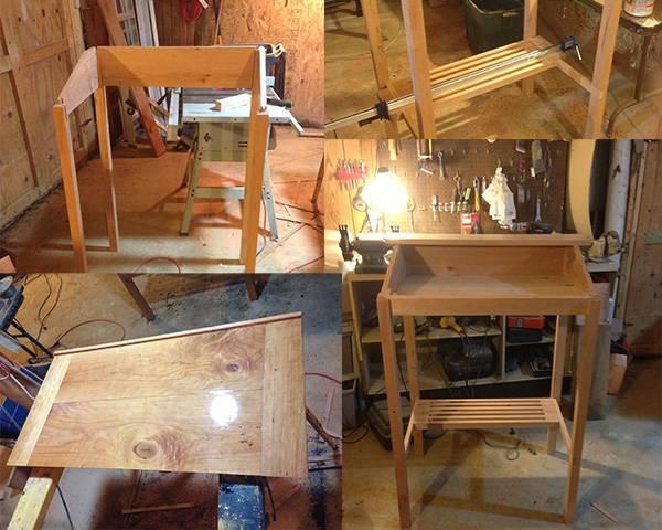 Standing Desk Construction 2
