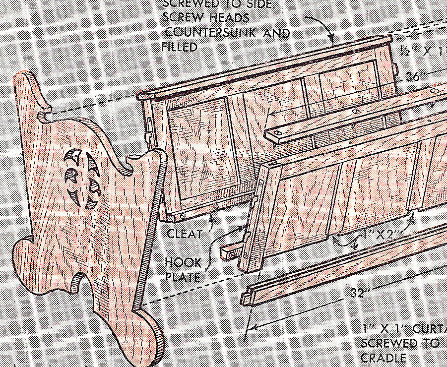 Woodworking Cradle Plans Free