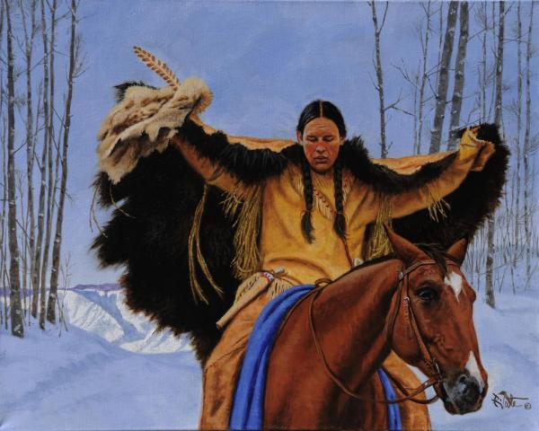 Robert Griffing Paintings Native American