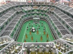Superbowl beer display