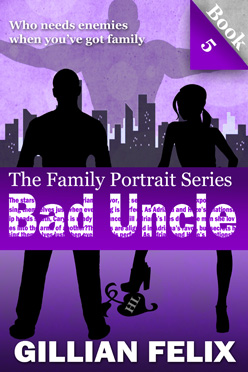 Book cover Bad Uncle Family Portrait Book 5