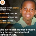 1000-Day Countdown to Global Education