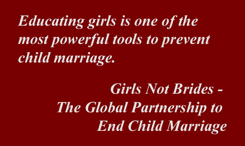 5 Quotes Regarding Child Marriage Plain Talk Book Marketing