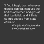 The Coexist Initiative – Working to End Gender-Based Violence