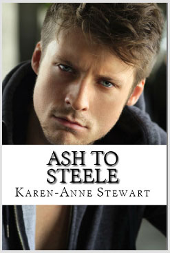 Ash to Steele book promo on Plain Talk Book Marketing
