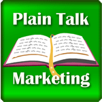 Plain Talk Book Marketing Logo