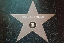 Haze C Lyndon Hollywood star