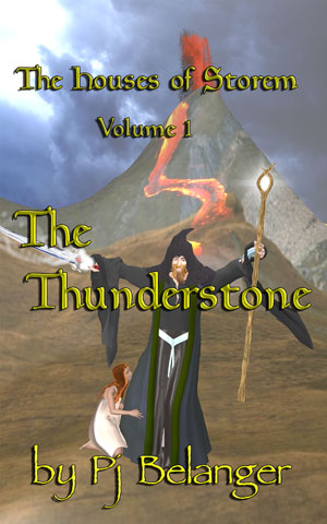 The Thunderstone book promo