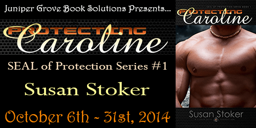Book tour banner for Protecting Caroline