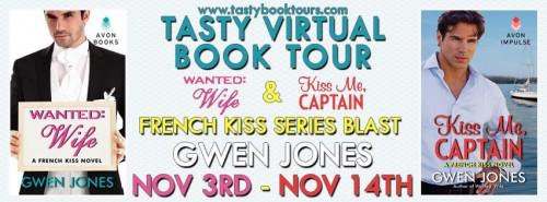 Book tour banner for Gwen Jones