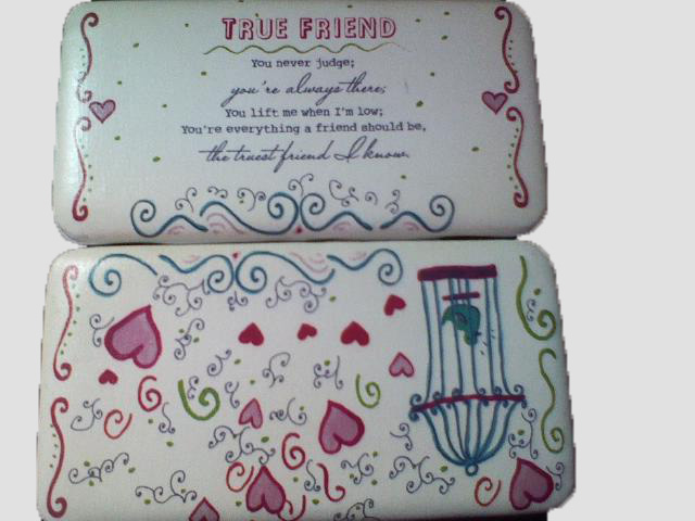 True Friendship wallet