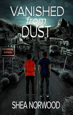 Vanished from dust book cover