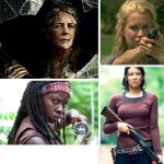 The Walking Dead – Women and Walkers