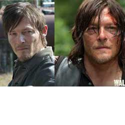 Daryl Dixon long hair short harir