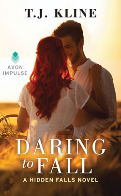 Daring to fall book cover