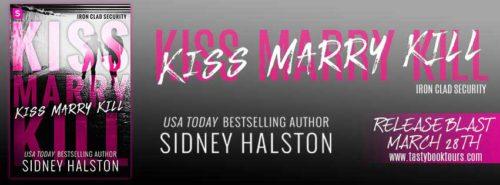 Blog tour banner Sidney Halston