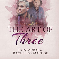 The Art of Three blog tour icon
