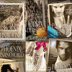 Phoenix Saga blog tour icon