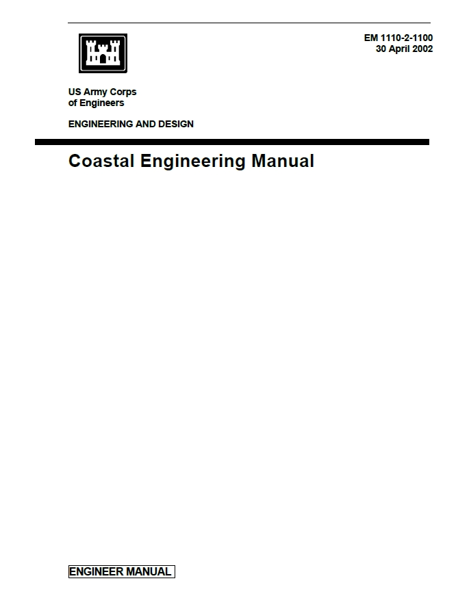EM-1110-2-1100 Coastal Engineering Manual