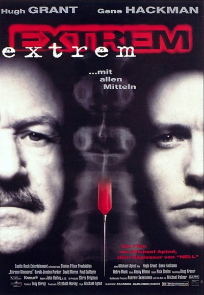 Extreme Measures Movie Poster via filmposter-archiv.de