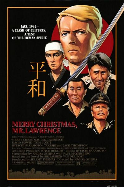 Movie Poster Merry Christmas Mr Lawrence