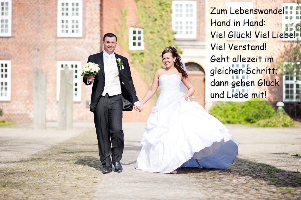 Hochzeitssprche und Glckwnsche an das Brautpaar