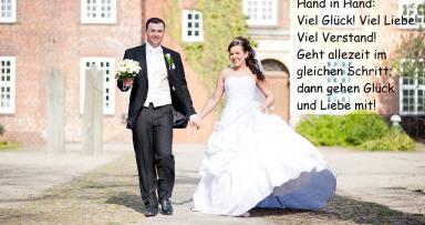 Hochzeitssprüche Und Glückwünsche An Das Brautpaar Plakos Online Tests