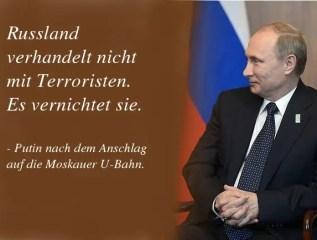Wladimir Putin - Zitate des mächtigsten Mannes der Welt